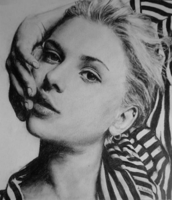 Scarlett Johansson par Thirteen